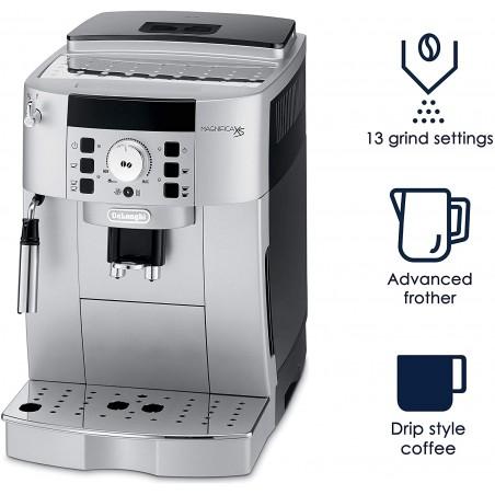 Máy pha cà phê tự động Delonghi ECAM 22.110.SB, Hệ thống đánh sữa tích hợp