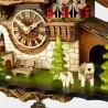 Đồng hồ treo tường Cuckoo Black Forest House EN 48110 QMT