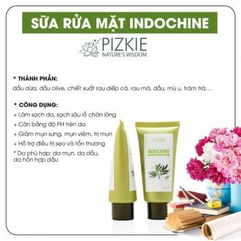 Sữa rửa mặt Pizkie INDOCHINE-Thế giới đồ gia dụng HMD