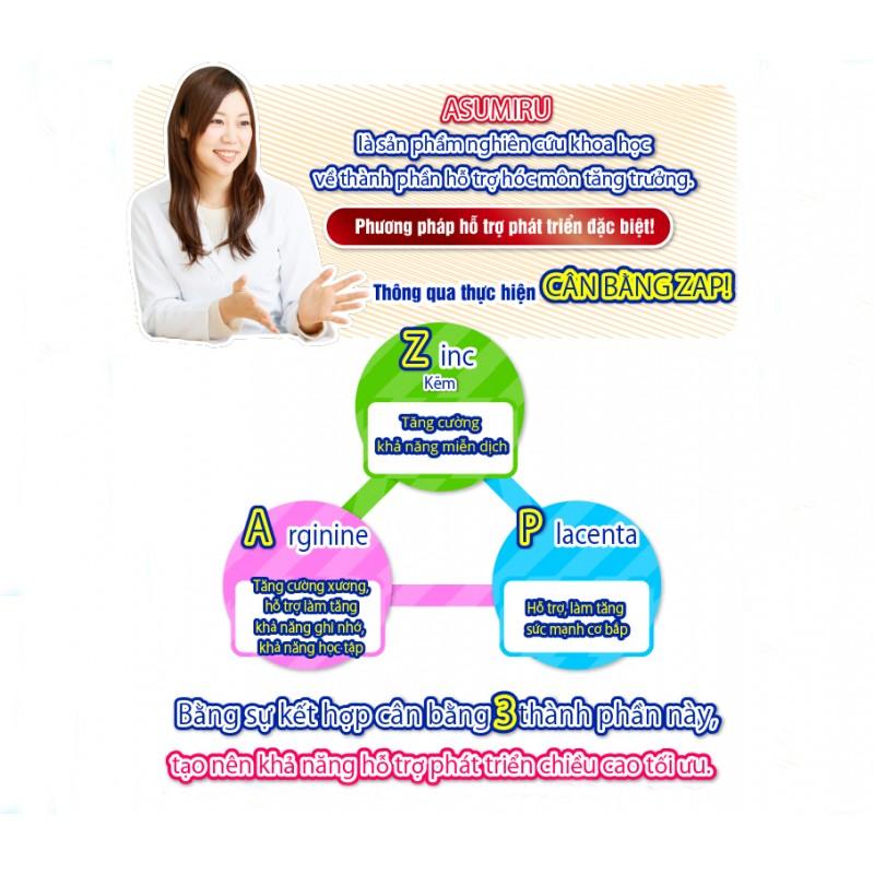 Sữa tăng trưởng chiều cao Asumiru-Thế giới đồ gia dụng HMD