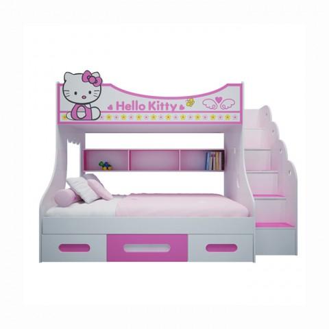 Giường trẻ em Hello Kitty-Thế giới đồ gia dụng HMD