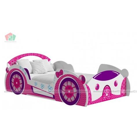 Giường đơn trẻ em xe funny car-Thế giới đồ gia dụng HMD