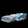 Giường đơn trẻ em ô tô xanh dương-Thế giới đồ gia dụng HMD
