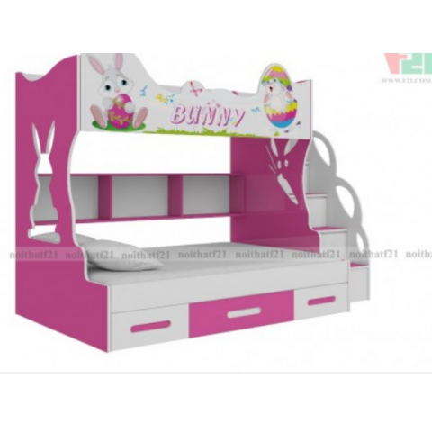 Giường tầng trẻ em Bunny-Thế giới đồ gia dụng HMD
