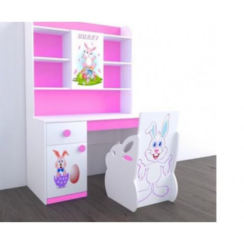 Bàn học trẻ em Bunny (1m2)-Thế giới đồ gia dụng HMD