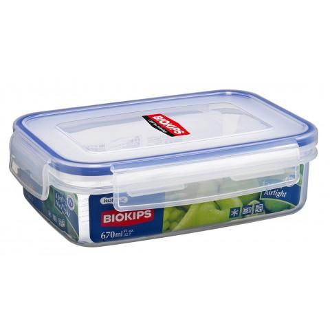 Hộp nhựa Komax Biokips 670ml có khay-Thế giới đồ gia dụng HMD