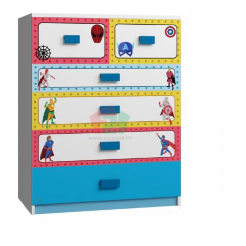 Tủ cabinet siêu anh hùng-Thế giới đồ gia dụng HMD