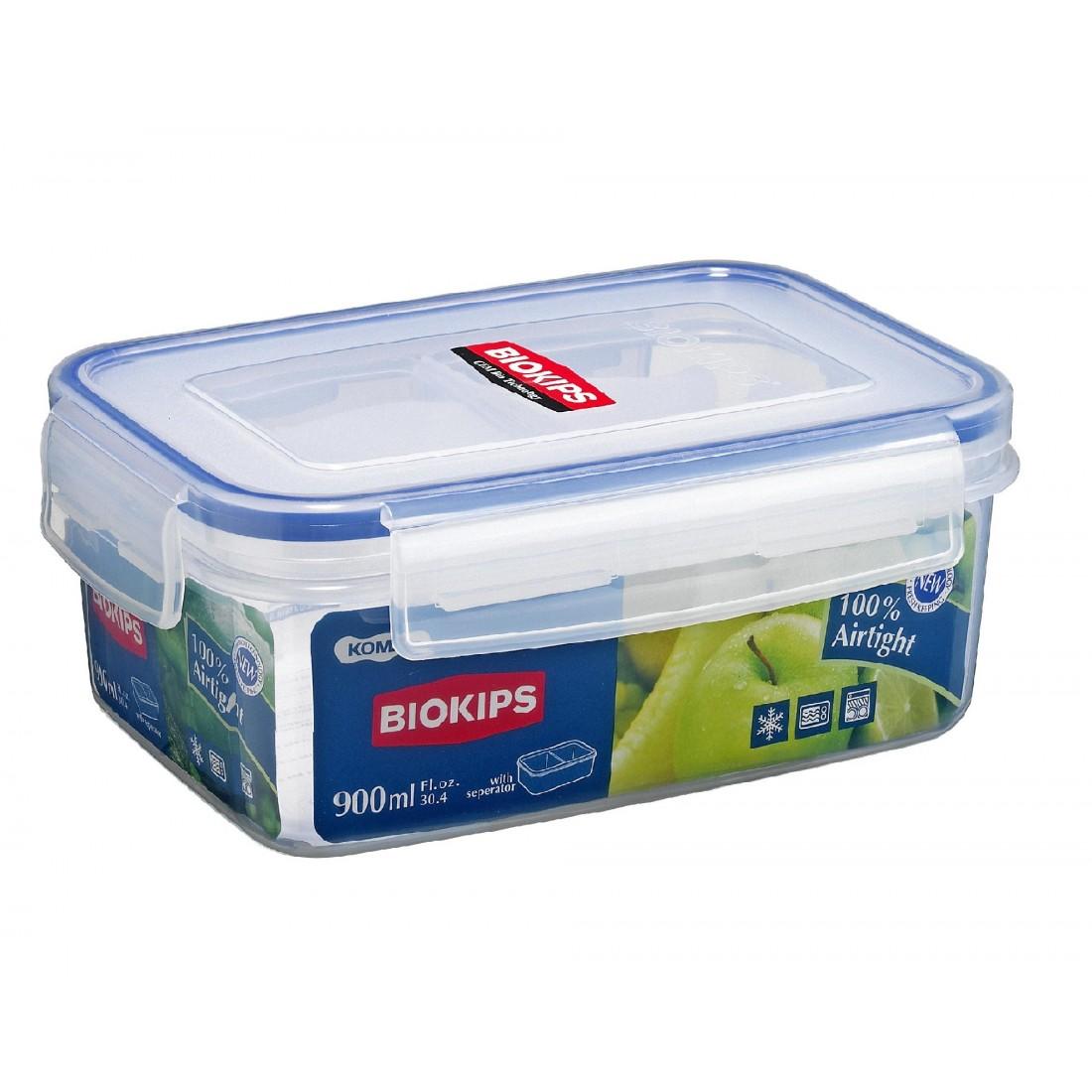 Hộp nhựa Komax Biokips 900ml có khay-Thế giới đồ gia dụng HMD