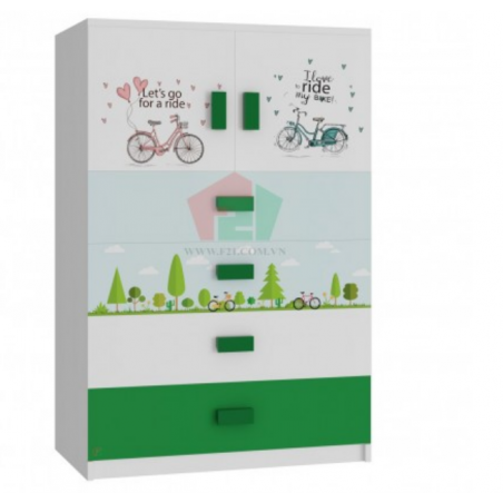 Tủ cabinet xe đạp