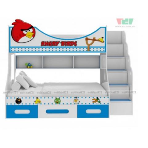 Giường tầng trẻ em Angry Bird-Thế giới đồ gia dụng HMD