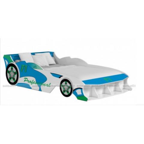 Giường đơn trẻ em ô tô F1-Thế giới đồ gia dụng HMD