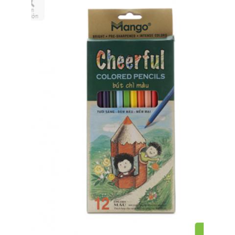 Bút chì 12 màu cheerful-Thế giới đồ gia dụng HMD