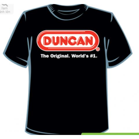 Áo thun Duncan người lớn - màu đen-Thế giới đồ gia dụng HMD