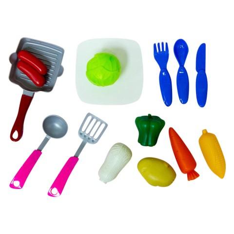 Bộ đồ chơi nhà bếp-Thế giới đồ gia dụng HMD