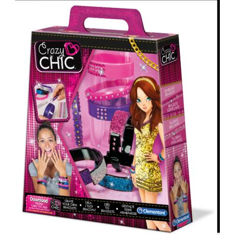Bộ sản phẩm Crazy Chic Spackling Bracelets-Thế giới đồ gia dụng