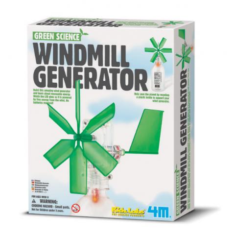 Khoa học xanh- Cối xay gió phát điện-Thế giới đồ gia dụng HMD