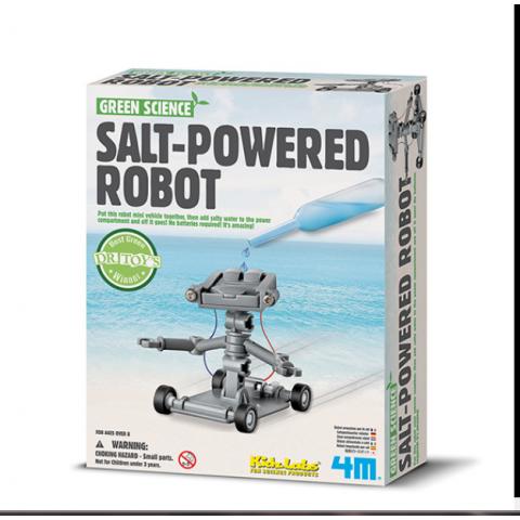 Đồ chơi khoa học -Robot chạy bằng nước muối-Thế giới đồ gia
