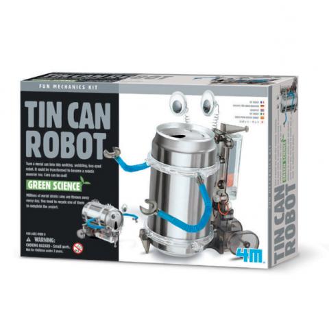 Đồ chơi khoa học-Robot hộp thiếc-Thế giới đồ gia dụng HMD