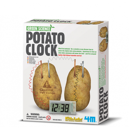 Đồ chơi khoa học - Đồng hồ khoai tây-Thế giới đồ gia dụng HMD
