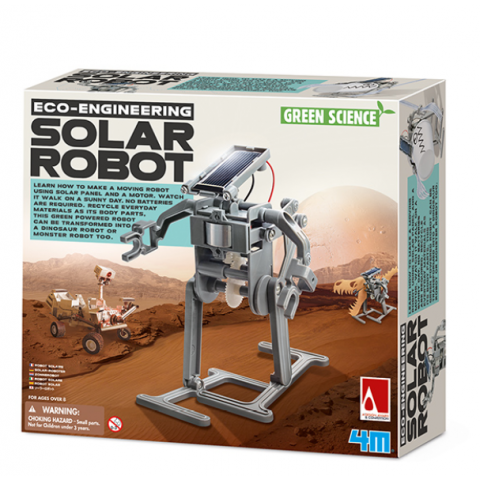 Đồ chơi khoa học -Robot năng lượng mặt trời-Thế giới đồ gia