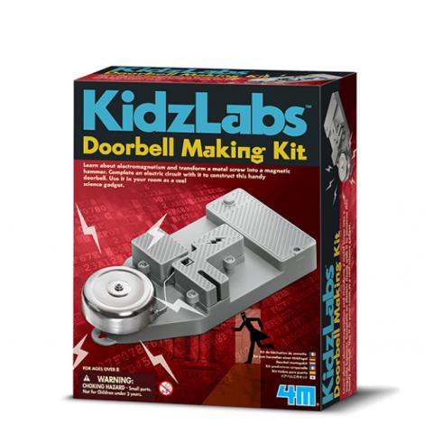 Đồ chơi khoa học -Chuông cửa-Thế giới đồ gia dụng HMD