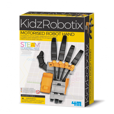Đồ chơi khoa học - Bàn tay robot-Thế giới đồ gia dụng HMD