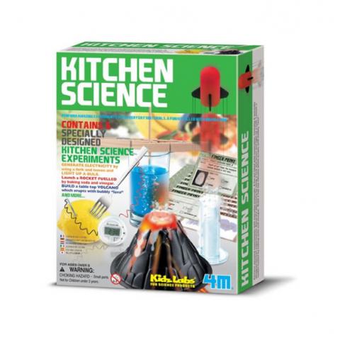 Đồ chơi khoa học- Căn bếp thông minh-Thế giới đồ gia dụng HMD