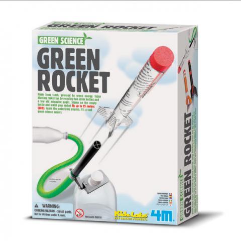 Đồ chơi khoa học- Tên lửa xanh-Thế giới đồ gia dụng HMD