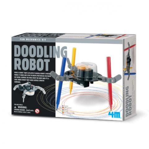 Đồ chơi khoa học- Robot tập vẽ-Thế giới đồ gia dụng HMD
