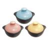 Pastel Ceramic Pot 2550ml (pink, yellow, blue)-Thế giới đồ gia