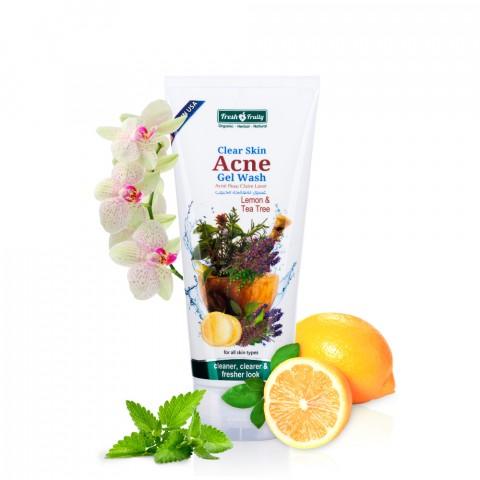 Gel rửa mặt dành cho da mụn chiết xuất trái cây thiên nhiên-Thế