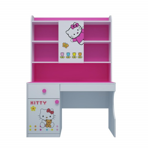Bàn học trẻ em Hello Kitty (1.2m)-Thế giới đồ gia dụng HMD