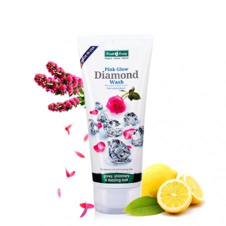 Sữa rửa mặt làm da sáng hồng chiết xuất kim cương cao cấp (Pink Glow Diamond Wash)