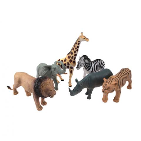 Đồ chơi mô hình Animal World động vật hoang dã 6 loại-Thế giới