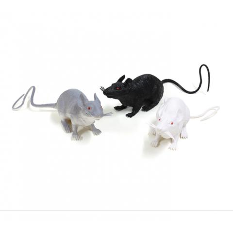 Đồ chơi mô hình Animal World chuột, 3 loại-Thế giới đồ gia dụng
