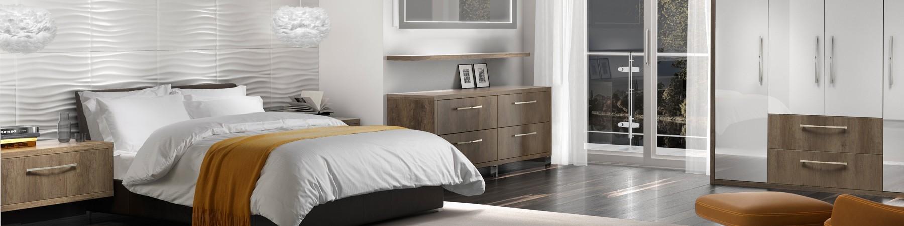Giường ngủ đôi chất lượng, chính hãng, gỗ tốt cho phòng ngủ gia đình
