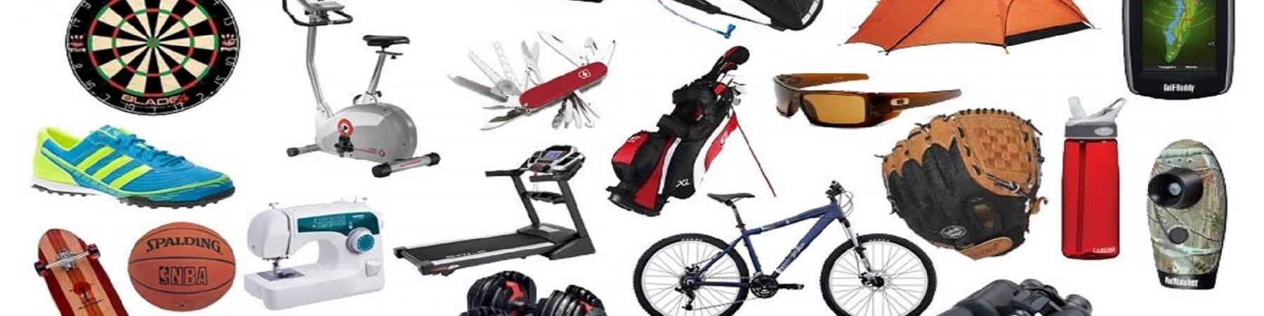 Đồ dùng, Thiết bị, Dụng cụ thể dục, thể thao và đi Du lịch, dã ngoại